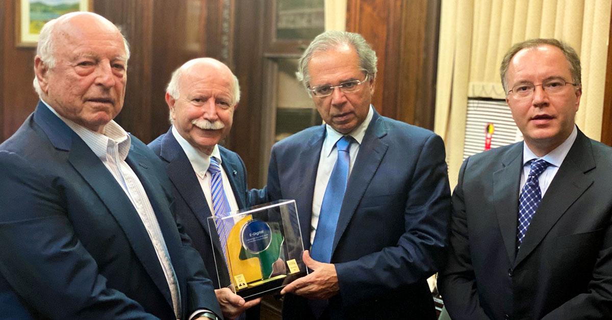 Troféu Embaixador | E-Digital: Ministro Paulo Guedes
