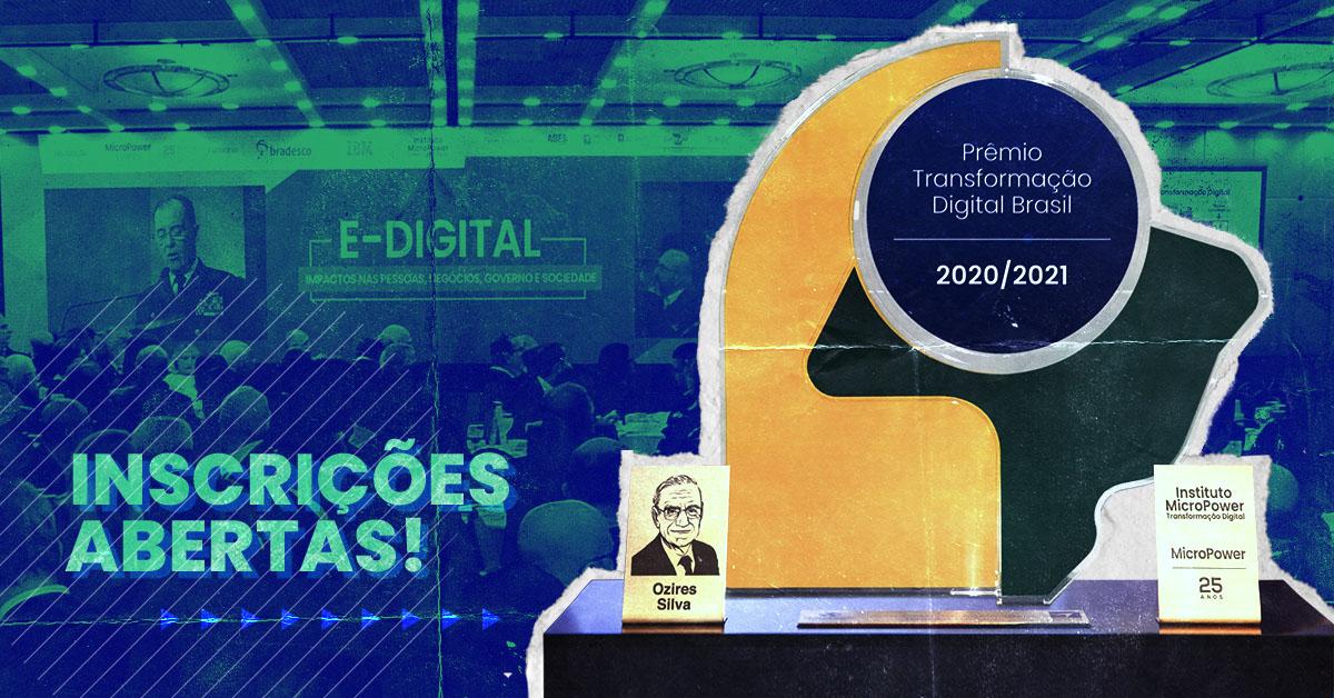 Prêmio Transformação Digital Brasil: saiba como inscrever sua organização