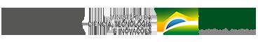 Logotipo do MCTI e Ministério da Agropecuária