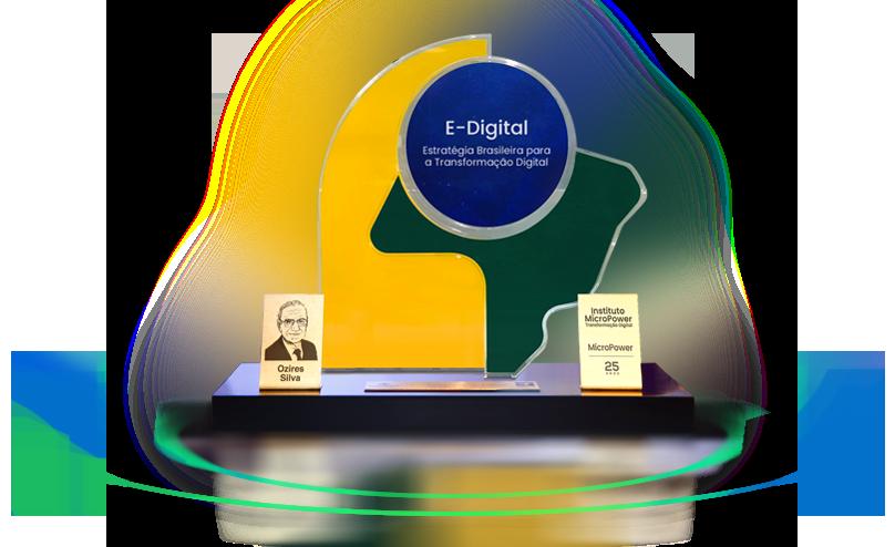 Imagem do Troféu E-Digital