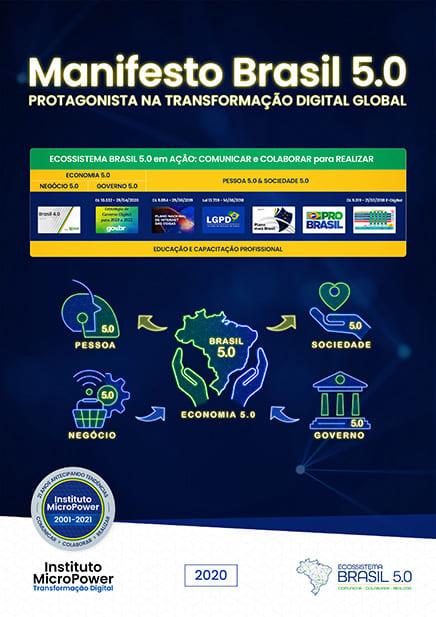 Manifesto Brasil 5.0 – Protagonista na Transformação Digital Global