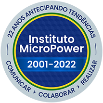 Selo do Instituto MicroPower - 20 anos