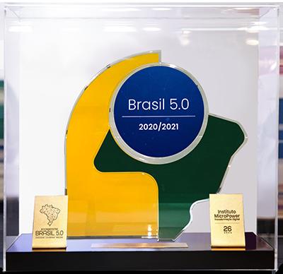 Troféu - Transformação Digital Brasil 2020