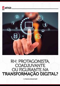 RH: Protagonista, Coadjuvante ou Figurante na Transformação Digital?