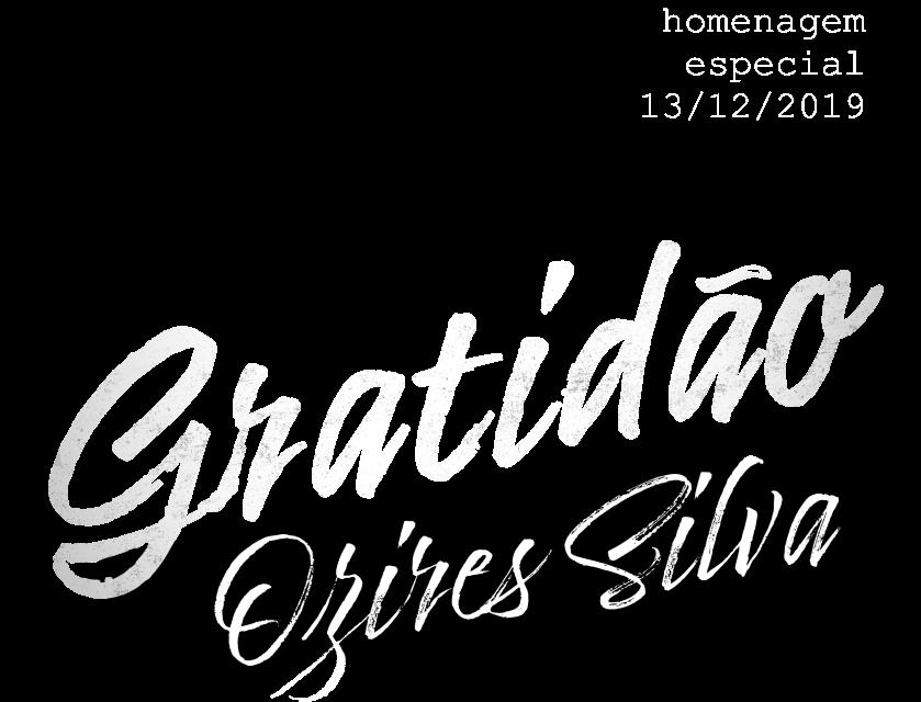Gratidão Ozires Silva