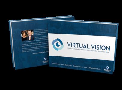 Capa do eBook do Virtual Vision - 20 anos