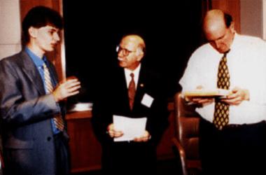 Denis Costa, Francisco Soeltl e Steve Ballmer