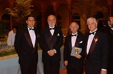 Luiz Carlos Trabuco Cappi, Vinton Cerf, Francisco Soeltl e Odecio Gregio