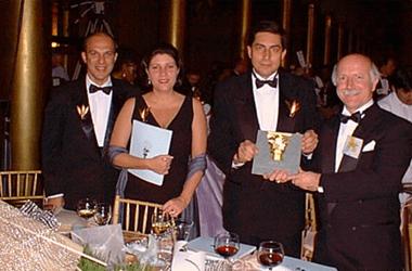 Gustavo Valente, Denise Aguiar, Luiz Carlos Trabuco Cappi e Francisco Soeltl