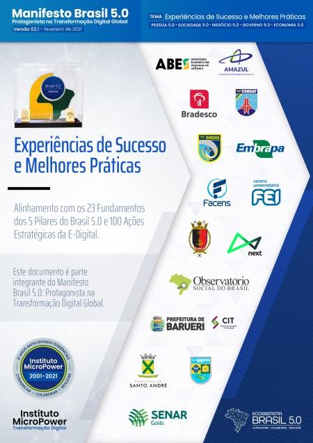 Capa do eBook Experiências de Sucesso e Melhores Práticas V02.1