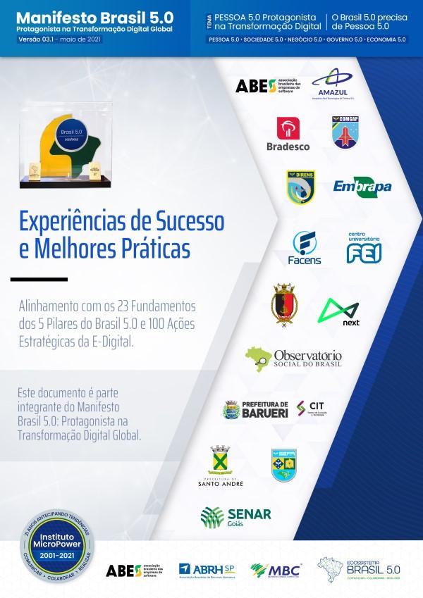 Capa do eBook Experiências de Sucesso e Melhores Práticas V03.1